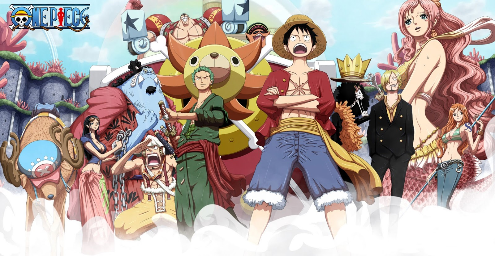 Straw hat pirate 15 wallpapers your daily anime - Anime pirate wallpaper ...