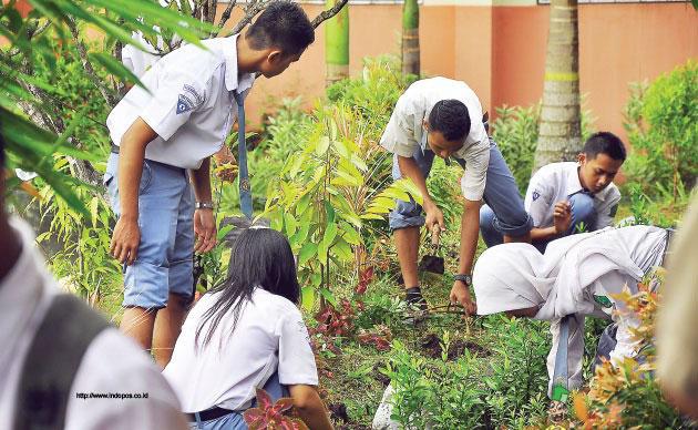 Sekolah Bersih Hijau dan Sehat