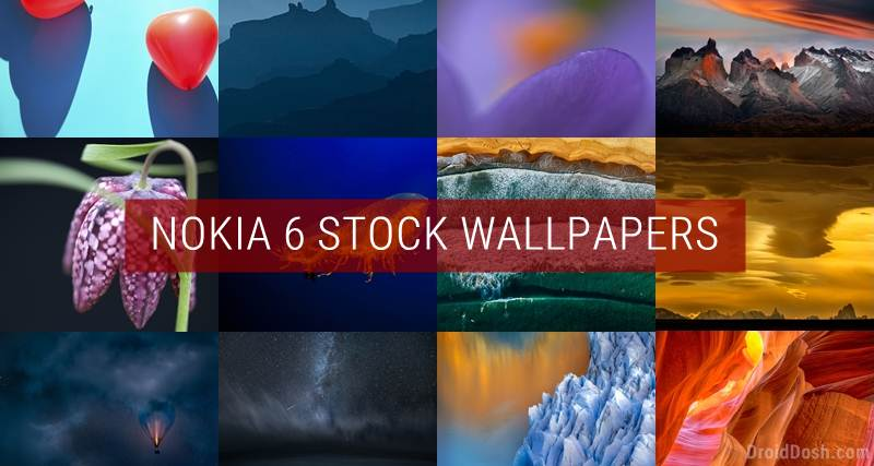 Download Nokia 6 Stock Wallpapers (Full HD)