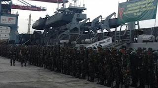 Jadikan Prajurit Raider, Yonif 142/KJ Ikuti Latihan Di Pusdiklat Kopassus