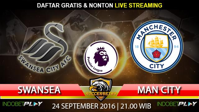 Prediksi Swansea vs Manchester City 24 September 2016 (Liga Inggris)