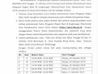 Jadwal dan Nama Peserta UJIAN CAT CPNS 2018 - Kota Payakumbuh, Download Disini !!!