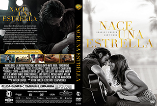 A Star Is Born - Nace una estrella - Cover DVD