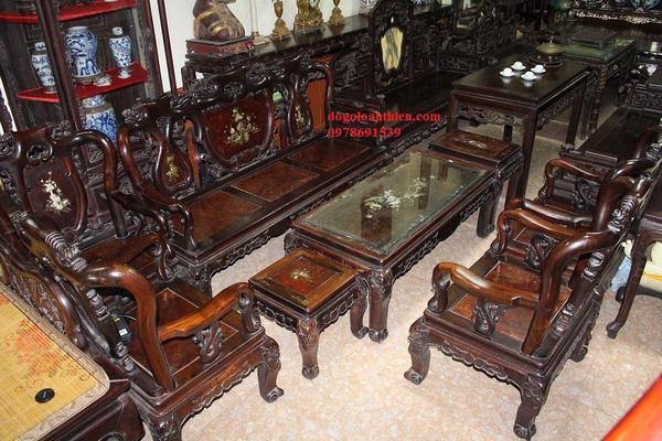 Tại sao bàn ghế Minh Quốc gỗ trắc lại khan hiếm?