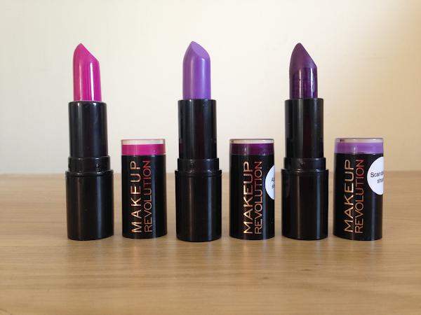 Product Love Of The Week- Makeup Revolution Lipsticks.