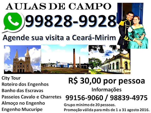 AULAS DE CAMPO - CEARA-MIRIM
