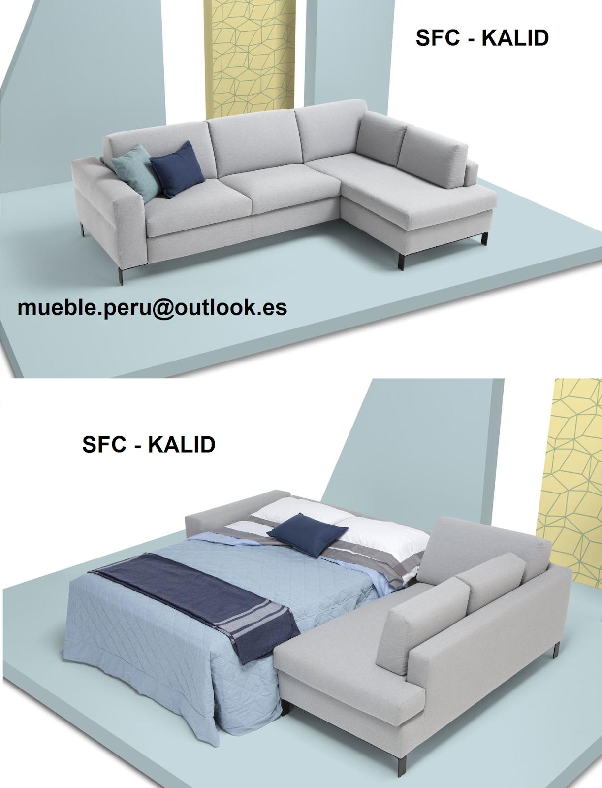 sofa sfc 8 ft bean bag mueble peru sakuray cama seccional kalid
