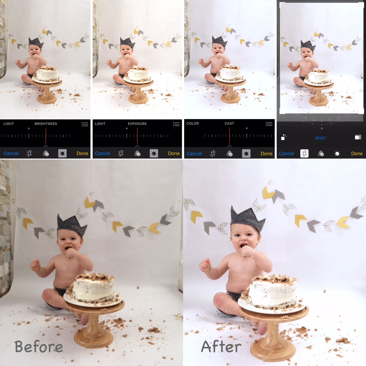 10 Tips for a DIY Cakesmash Photoshoot on your iPhone Harlow
