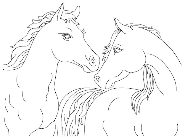 Printable Realistic Horse Coloring Pages Http  Mewarnaigambar Web  Spesific Realistic Horse Coloring Pages