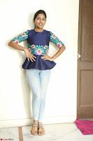 Eesha Looks super cute stunning in Denim Jeans and Top at Darsakudu movie Inerview ~  Exclusive 019.JPG