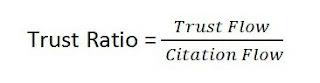 cara hitung trust ratio