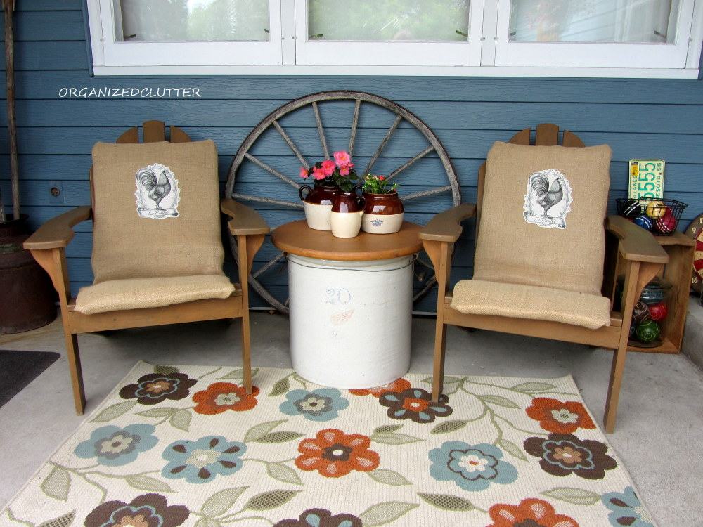 Decorating A Covered Patio With Vintage Collections Organized Clutter