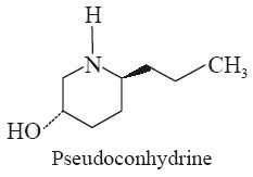 Pseudoconhydrine