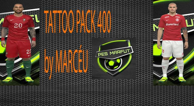 PES 2016 Tattoo Pack 400