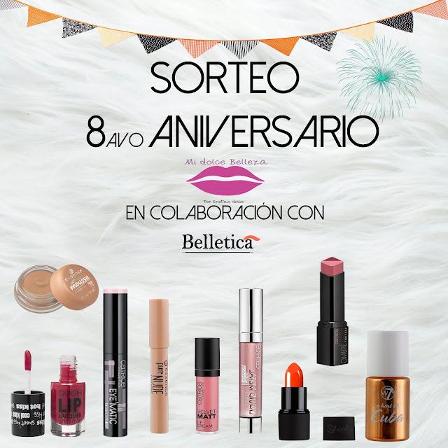 SORTEO 8 ANIVERSARIO MI DOLCE BELLEZA