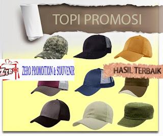 Jasa Pembuatan Topi untuk souvenir dan promosi di Tangerang