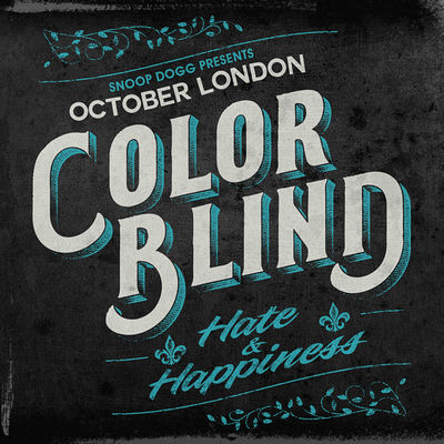 October London - Color Blind: Hate & Happiness - Album Download, Itunes Cover, Official Cover, Album CD Cover
