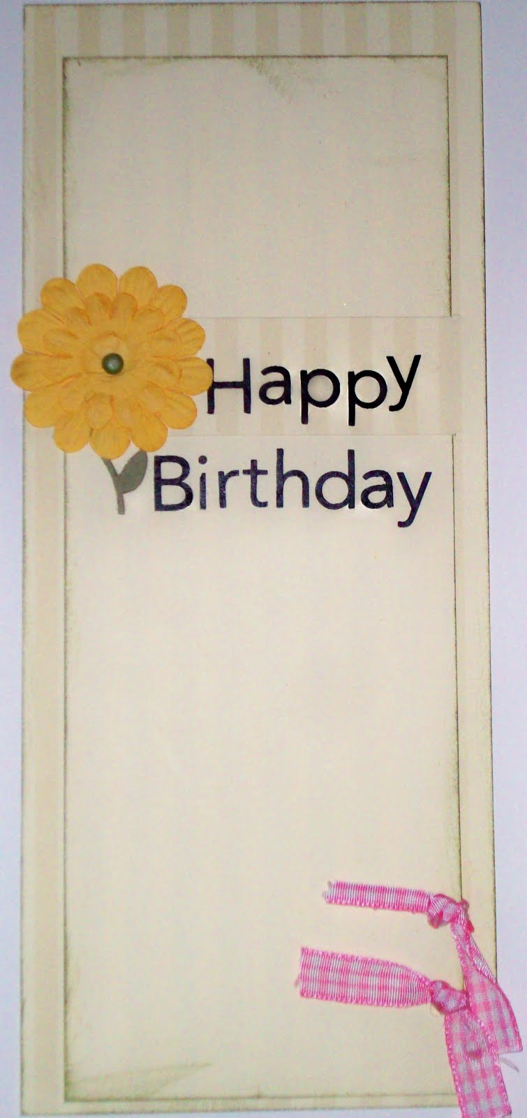 simple happy birthday card  food crafts and family