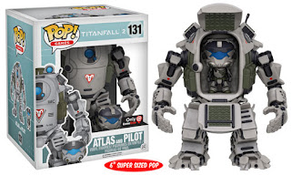 Funko Pop! Atlas with Pilot