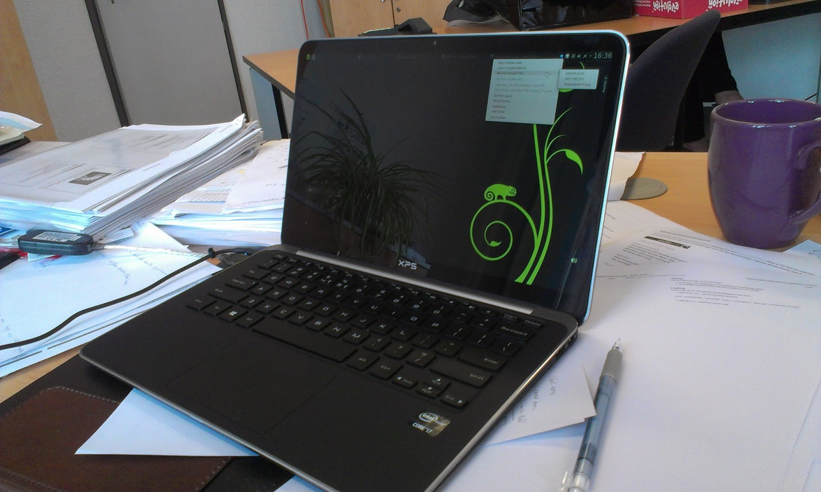 Dorien Herremans: Installing OpenSuse 12 3 on the new Dell