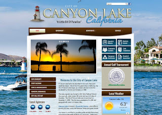 Canyon Lake California Website