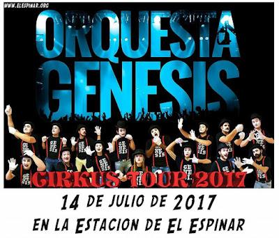 Vamos de fiesta con la Orquesta Génesis