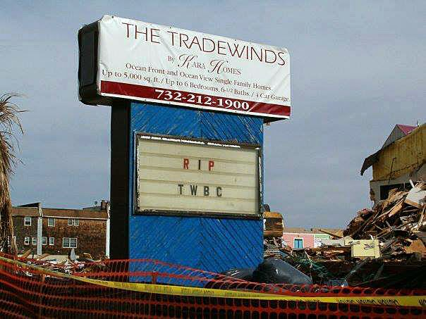 Saying goodbye to The Trade Winds Club in Sea Bright, New Jersey