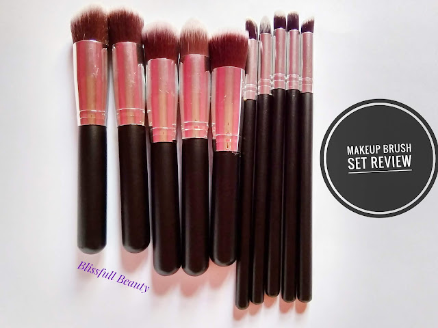 Makeup Brush Set for Beginner/ Review and Uses
