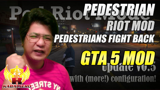 GTA 5 Pedestrian Riot Mod - Pedestrians Fight Back