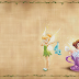 Tinker Bell and the Fairies: Free Printable Invitations, Cards or Papers.