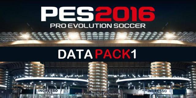 Download Pes 2016 Data Pack V1.00 Pes Patch Terbaru Full Transfer