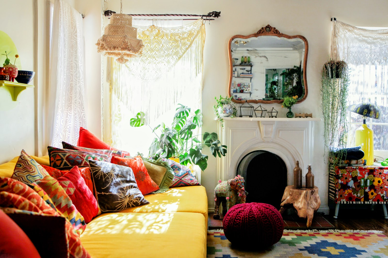 Three Must Read Tips For Achieving A Bohemian Décor In: Patti Friday: The New Bohemians: Cool And Collected Homes