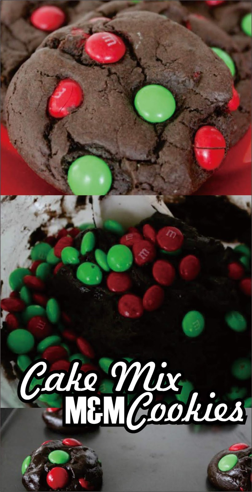 Cake Mix M M Cookies Christmas Cookies Easy Kraft Recipes