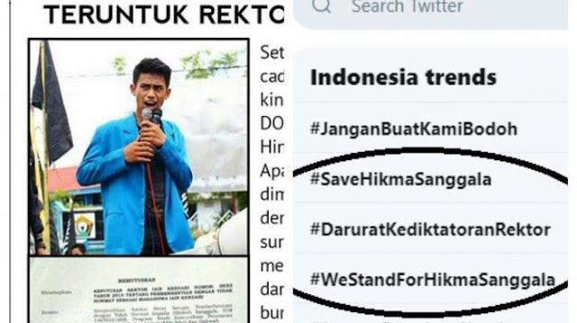 Hikma Sanggala Trending Topik