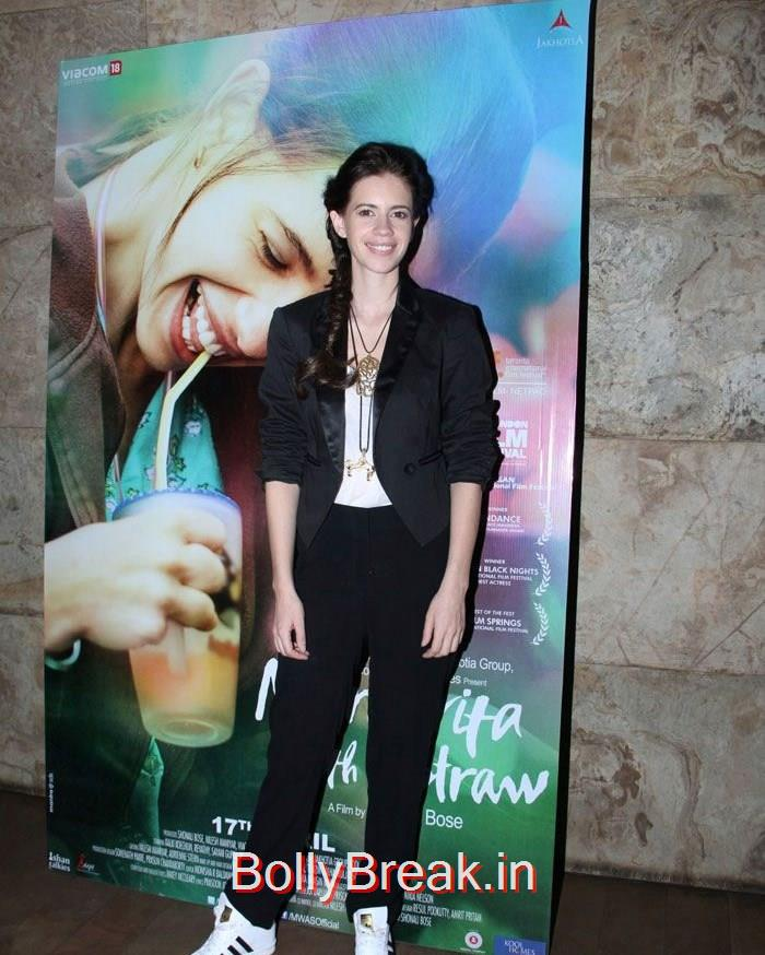 Kalki Koechlin, Kalki Koechlin, Sridevi Hot Pics At 'Margarita With A Straw' Special Screening