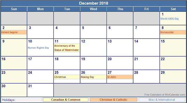 December 2018 Calendar, December 2018 Printable Calendar, December 2018 Calendar Template, Blank December 2018 Calendar, December 2018 Calendar Printable, Calendar December 2018, December 2018 Calendar with Holidays, December 2018 Calendar PDF, December 2018 Calendar Word, December 2018 Calendar Excel