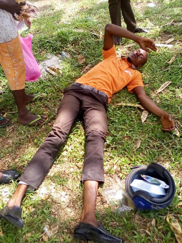 SARS abandoned victim
