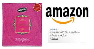 Amazon BookMyShow Voucher Offer free voucher code