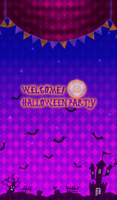 WELCOME!HALLOWEEN PARTY