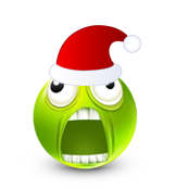 Christmas Smiley Icon 32