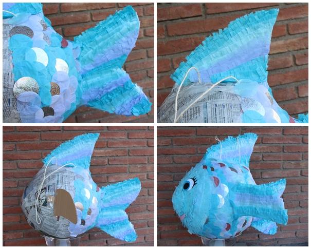 piñata paso a paso