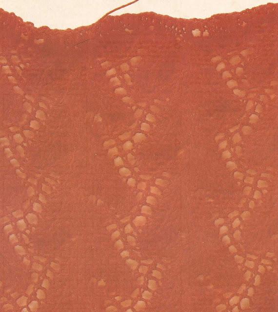 Patrón #1777: Ramas de Coral a Dos Agujas