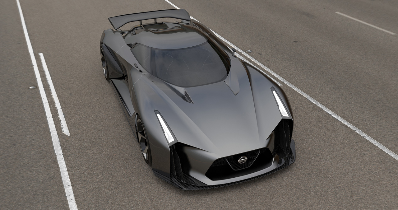 Nissan Vision GT Unveiled, Coming to GT6 in July : ebeasts.com