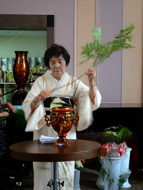japanese art in russian samovar