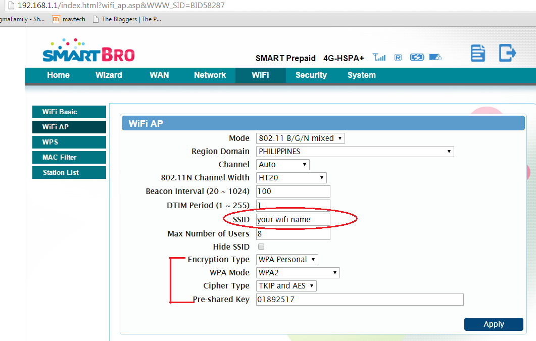 How to Change WiFi Name (SSID) and WiFi Password on Prepaid Smart