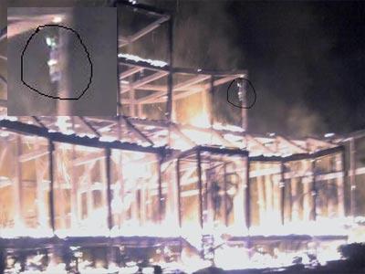 Penampakan ihantui pada saat kebakaran PRIMBON PRIMBON JAWA
