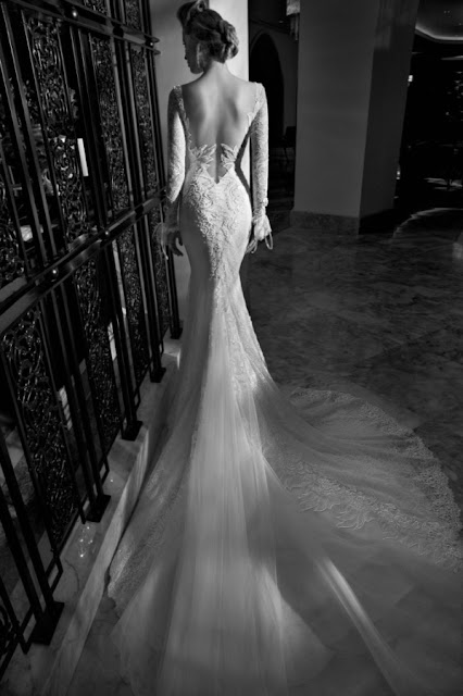 K'K'Mich Weddings - wedding dresses - eleanor v cut back - galia lahav