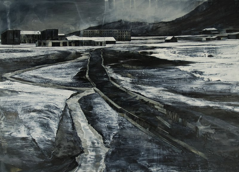 17-To-Turn-My-Face-Away-Mark-Thompson-Austere-and-Desolate-Cityscapes-Paintings-www-designstack-co