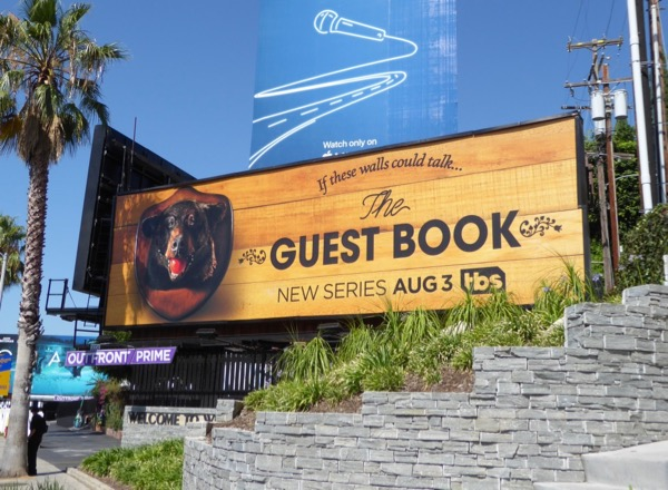 Guest Book season 1 bear head ball gag billboard