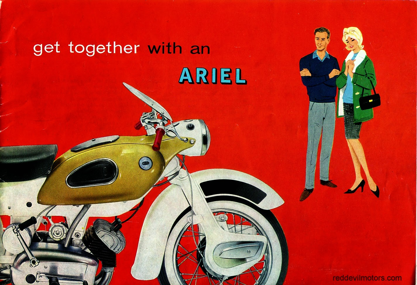 Ariel Arrow and Leader brochure front cover.